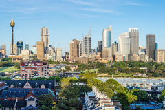 Urban skyline, Sydney, Australia Stock Image