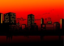 Urban skylines Royalty Free Stock Photography