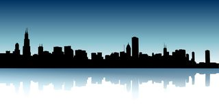Urban skylines Stock Photography