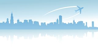 Urban skylines Royalty Free Stock Images