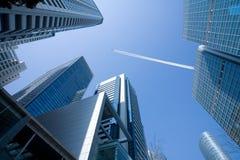 Urban Skyscraper Environment Stock Photo