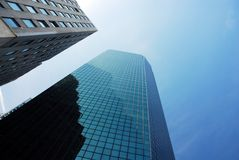 Urban skyscrapers Stock Images