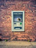 Urban Smashed ATM Royalty Free Stock Photo