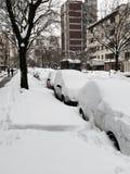 Urban Snow Royalty Free Stock Photos