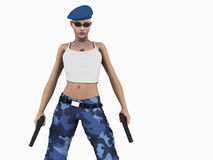 Urban Soldier Stock Images