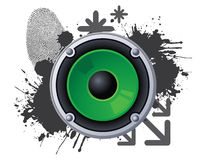 Urban speaker Royalty Free Stock Images