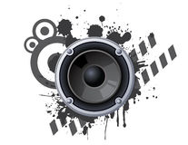 Urban speaker Royalty Free Stock Image