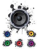 Urban speakers Stock Images