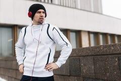 Urban sportsman Stock Photo