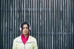 Urban sporty woman portrait Stock Image