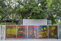 The Urban Spotlight of Kaohsiung City Royalty Free Stock Photo