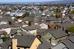 Urban Sprawl Stock Photo