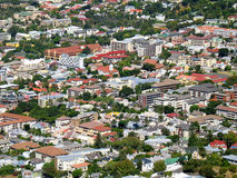 Urban sprawl. Landscape photo of residential urban sprawl royalty free stock photography