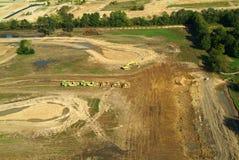 Urban Sprawl Aerial View Royalty Free Stock Image