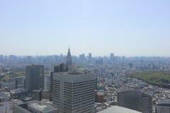 Urban sprawl cityscape with Toshima and Shinjuku wards. The urban sprawl cityscape with Toshima and Shinjuku wards Stock Photography