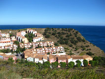 Urban Sprawl in France, Cape of Creus Royalty Free Stock Photography