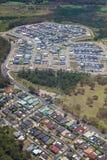 Urban sprawl - Newcastle - New South Wales Australia Royalty Free Stock Photos