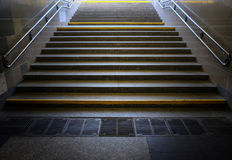 Urban staircase Royalty Free Stock Images