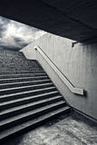 Urban staircase in underground passage Royalty Free Stock Image