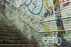 Urban stairway Stock Photo
