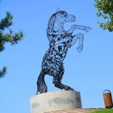 Urban statue in Bucharest - Bucuresti Stock Image