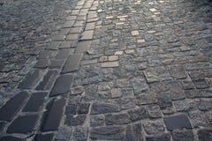 Urban stone paving stones Stock Photography