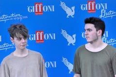Urban Strangers   al Giffoni Film  Festival 2016. Giffoni Valle Piana, Salerno, Italia - 23 Luglio, 2016 : Urban Strangers   al Giffoni Film Festival 2016 - il Royalty Free Stock Images