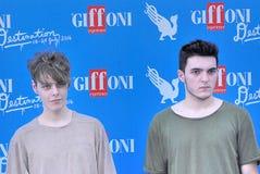 Urban Strangers  al Giffoni Film  Festival 2016. Giffoni Valle Piana, Salerno, Italia - 23 Luglio, 2016 : Urban Strangers   al Giffoni Film Festival 2016 - il 23 Stock Images