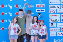Urban Strangers  al Giffoni Film  Festival 2016. Giffoni Valle Piana, Salerno, Italia - 23 Luglio, 2016 : Urban Strangers   al Giffoni Film Festival 2016 - il 23 Stock Photos