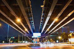 Urban Street Background. Transportation In Bangkok City, Thailan Royalty Free Stock Photography