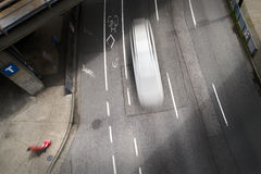 Urban Street Downtown Royalty Free Stock Image