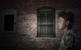 Urban Street Kid Stock Image