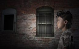 Urban Street Kid Stock Image
