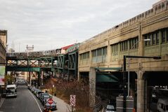 Urban street scene Stock Image