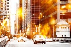 Urban street scene Stock Photography
