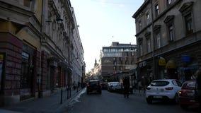 Urban Street Scene Sarajevo stock video