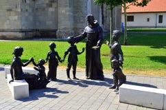 Urban street statues Royalty Free Stock Photo