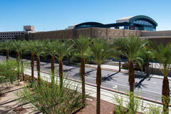Urban streetscapes and buildings in downtown Phoenix, AZ Stock Images