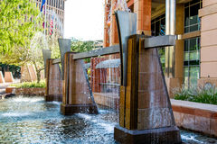 Urban streetscapes and buildings in downtown Phoenix, AZ Royalty Free Stock Photo