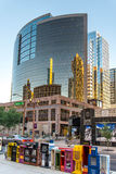Urban streetscapes and buildings in downtown Phoenix, AZ Stock Photos