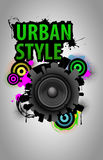 VECTOR Urban style Royalty Free Stock Photo