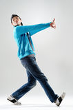 Urban style dance Royalty Free Stock Image