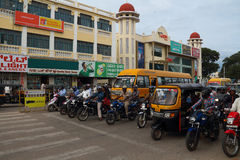 Urban style and features of Mysore in India Royalty Free Stock Images