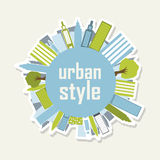 Urban style Royalty Free Stock Image