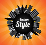 Urban Style Royalty Free Stock Photography