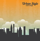 Urban style Royalty Free Stock Images