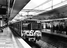 Urban subway stock photos