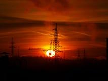 Urban sunrise Stock Image