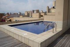 Urban swimmingpool Stock Photography