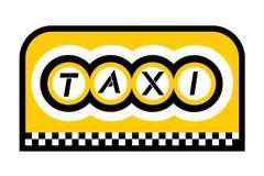 Urban taxi Stock Photo